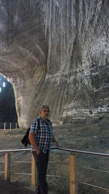 Imposant das Salzbergwerk Turda in Rumänien