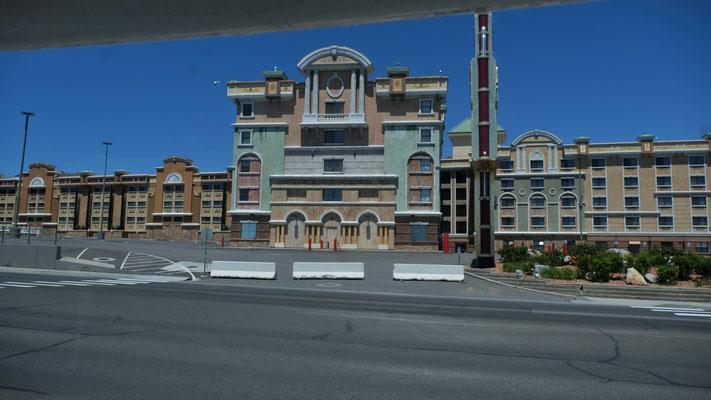 Hotels und Casinos alle noch geschlossen