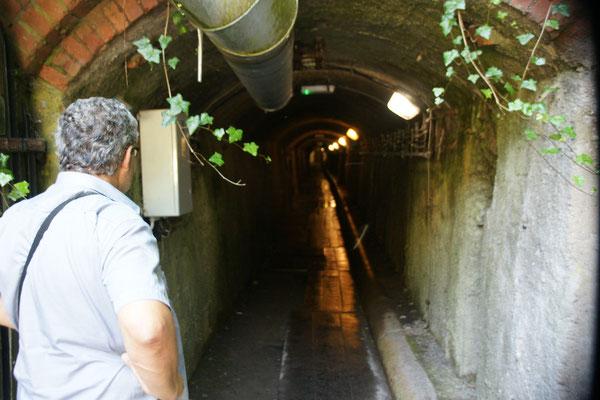 Hier geht es rein in die Mine von Szloty Stok