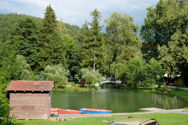 Spazierwege durch die Parkanlage von Reichenau