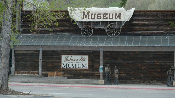Schade das Museum in Jackson Hole ist noch geschlossen.....