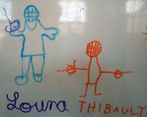 Louna et Thibault