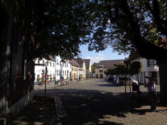 Blick auf den Marktplatz
