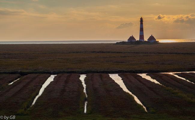 Nordsee - Westerhever Leuchtturm