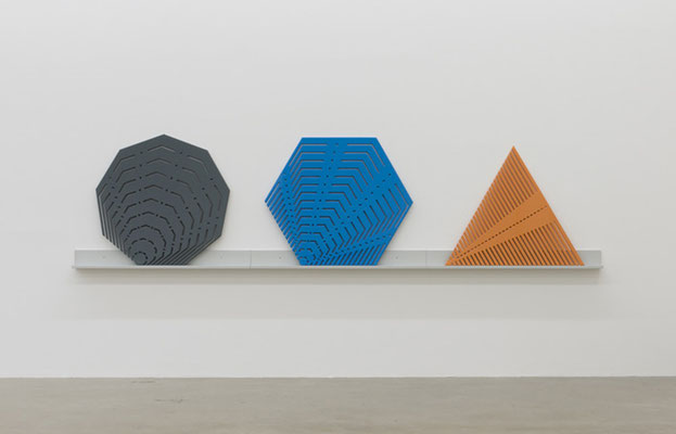 """The Limits of Control:Templates, installation view """"IN FORMATION"""", Sexauer gallery, Berlin, 2016"""