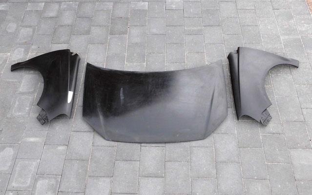 GFK Motorhaube & Kotflügel für Polo 9N3