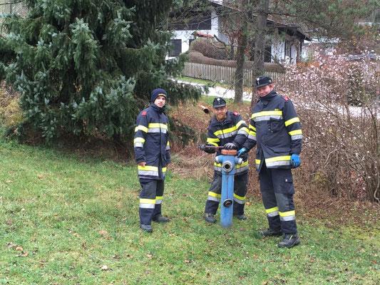 Für unsere jungen Kameraden eine gute Möglichkeit sich die Standorte unsere Hydranten einzuprägen