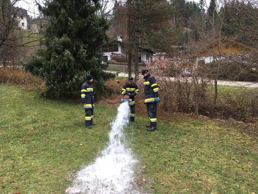 Regelmäßiges Spülen ist wichtig, um Schmutzwasser aus den Hydranten zu entfernen.