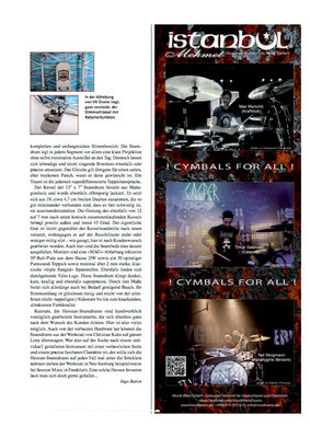 """Drums & Percussion"""" 3/2015"""