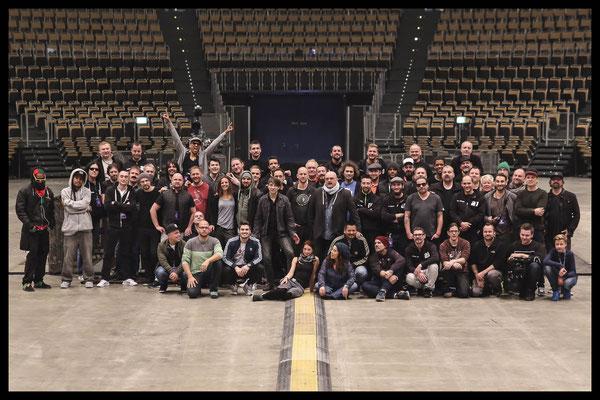 Söhne Mannheims Tour 2015, Drumtech