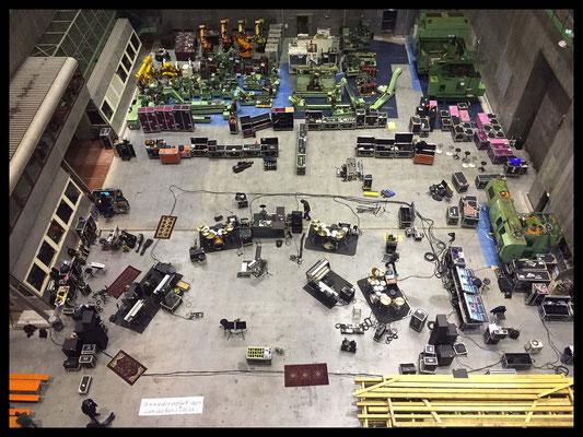 Rehearsals Söhne Mannheims Tour 2015