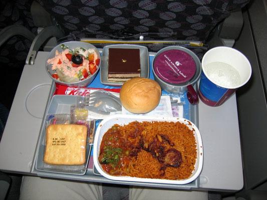 Qatar Airways Boardverpflegung
