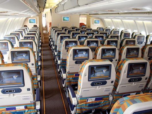 Oman Air Kabine