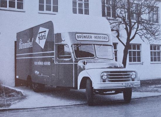 Premier camion FEBRÜ - vers 1945