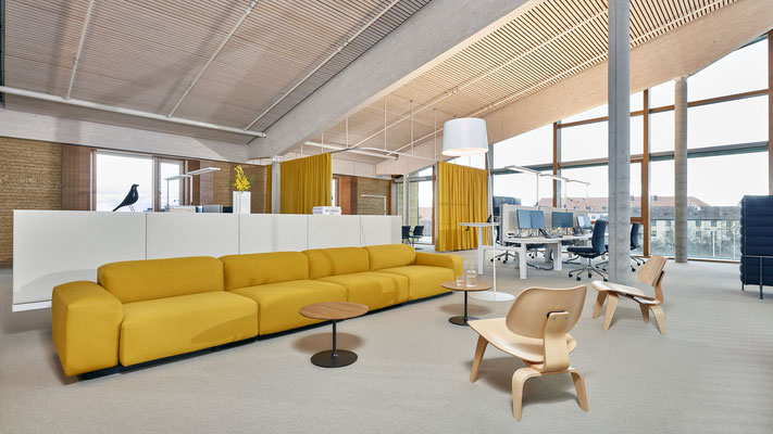 Canapé d'accueil modulable - Vitra Modular Sofa
