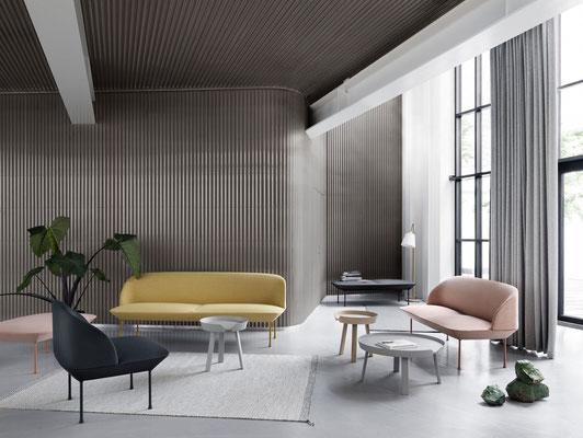 Canapé d'accueil - Muuto Oslo