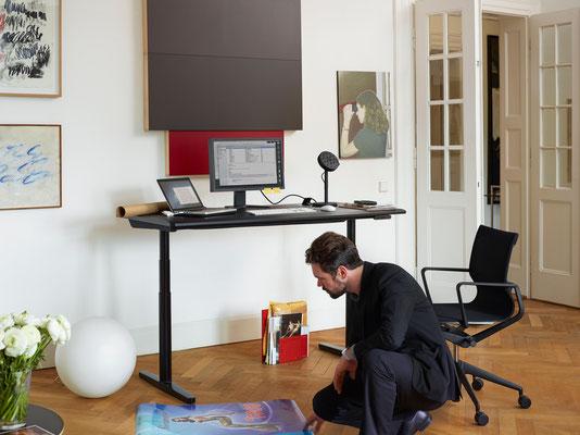 Table de bureau réglable en hauteur - Vitra CDS