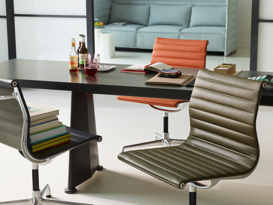 Chaises de conférence design - Vitra Aluminium Chair