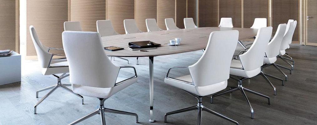 Table et chaises de conférence - Wilkhahn Graph