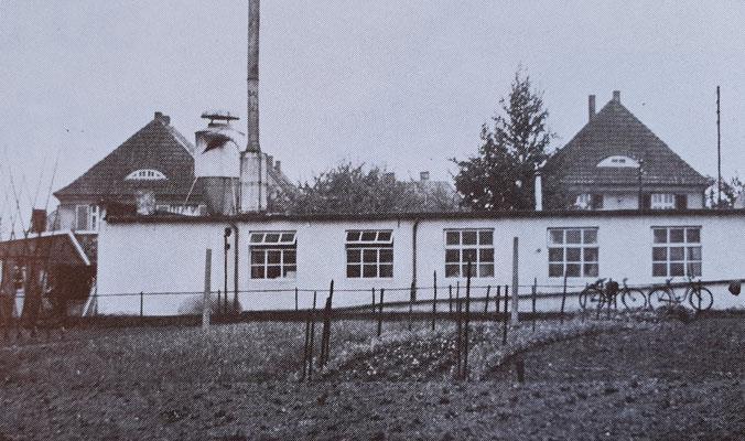 Premier atelier de fabrication - 1937