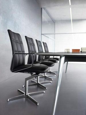 Chaises de conférence - Walter Knoll Leadchair