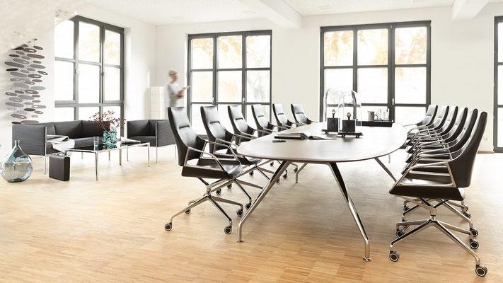 Table et chaises de conférnce - Wilkhahn Graph