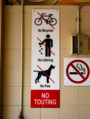 Ohne Regeln geht hier gar nichts in Singapur