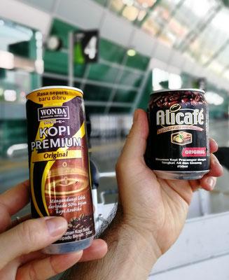 Frühstück am Airport