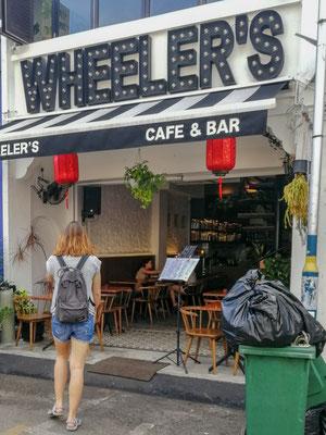 Ab zu Wheelers zum Frühstück