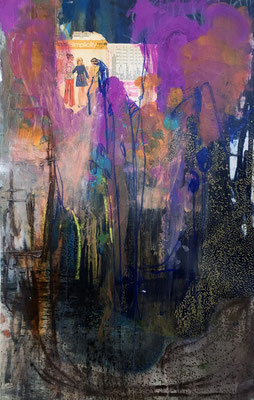 """Be Gentle With You"" (47"" x 29"") 