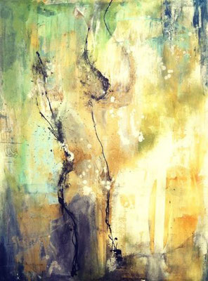 """""""Rachel Red"""" (48""""x36"""") 
