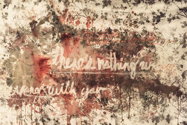 """""""There is Nothing Wrong With You"""" (31.5""""x47"""") 