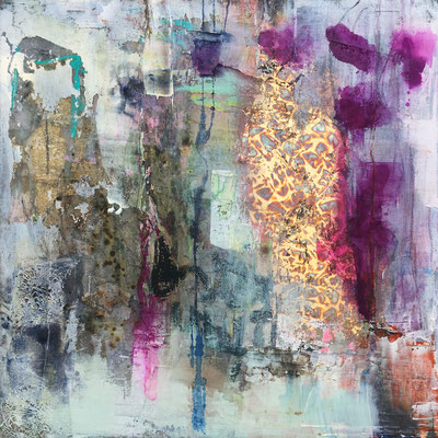 """""""I felt You This Time"""" (36"""" x 36"""") 