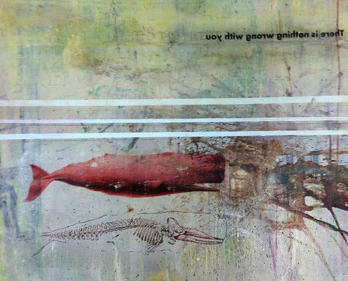 """There is Nothing Wrong"" (16""x20"") 