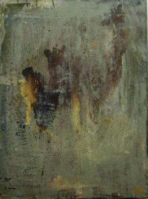 """Dejame Entrar"" (24""x18"") | mixed media on canvas | SOLD"