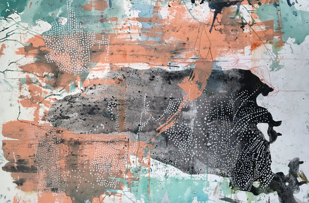 """""""Ethereal"""" (34"""" x 58"""") 