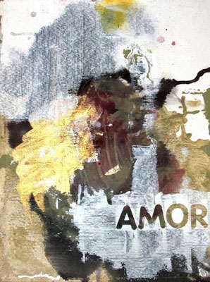 """Amor"" (17""x11"") 