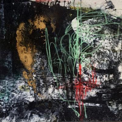 """Diferentes Dimensiones"" (36"" x 36"") | mixed media on canvas | SOLD"