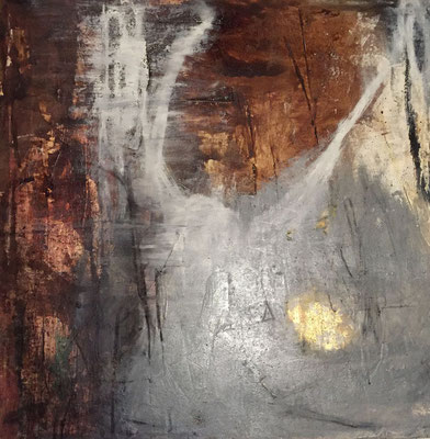 """""""There's a Light and it Never Dies"""" (47""""x46.75"""") 