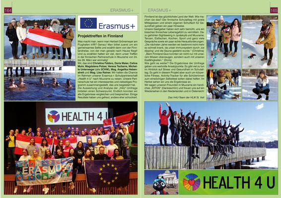 School report about LTTA Finland 2019 (german)