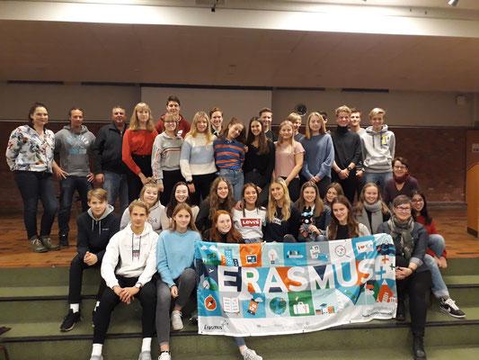 Erasmus Flag on tour: LTTA Norway 2018