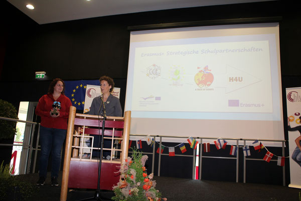 "Presentation of H4U on ""HLW International Day"" 2018"
