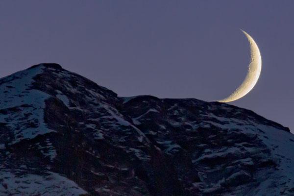 Gipfelimond am Einshorn