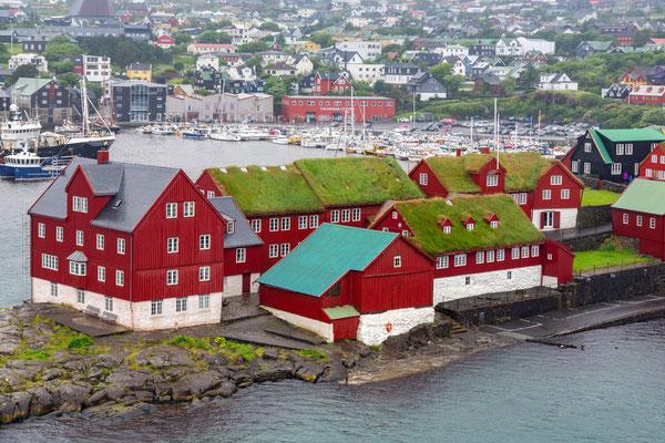 Das Regierungsviertel in Torshavn