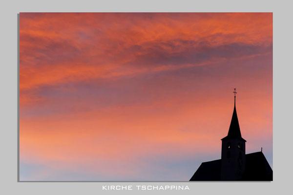 Kirche Tschappina