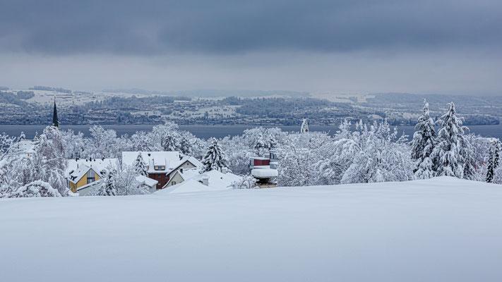 Winter in Männedorf