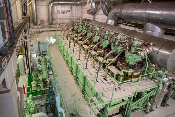 acht Zylinder Motor