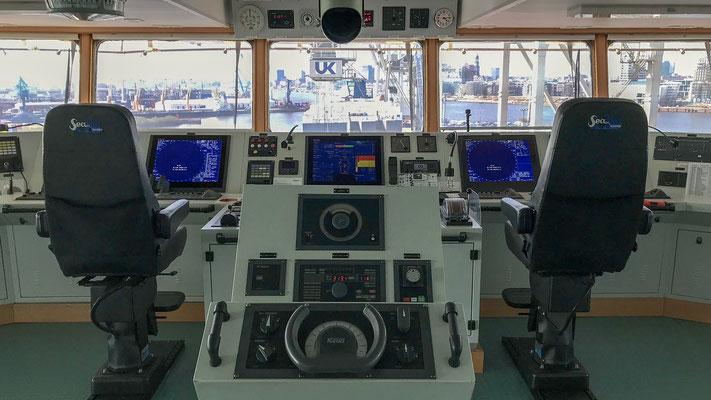 endlich auf dem Schiff