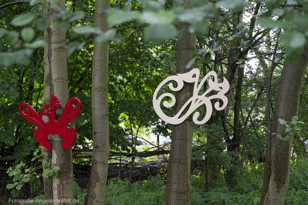 Baum-Kronen von Eva Preckwinkel