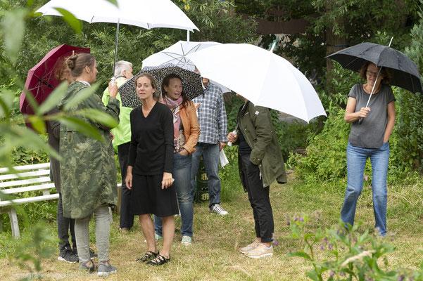 Picknick im Regen